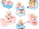 Baby Doll Bathtub toy Amazon Best Choice Products Set Of 6 Mini Baby Dolls