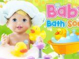 Baby Doll Bathtubs New Baby Bath song ♥toy Nursery Rhyme♥ How to Bath Baby