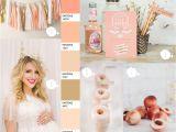 Baby Shower Decoration Kits Uk Perfectly Peach Baby Shower Ideas Pinterest Peach Baby Shower