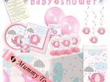 Baby Shower Decoration Kits Uk Ultimate Party Pack In Pink Umbrellaphant Uk Baby Shower Co Ltd