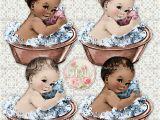 Baby Vintage Bathtub Vintage Washtub Baby Girl & Boy Bath Tub 2 by