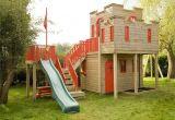 Backyard Climbing Structures Castle Playhouse Fun Outdoor Playhouses Pinte