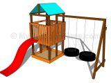 Backyard Climbing Structures Outdoor Playset Plans Kiddos Pinterest Outdoor Playset