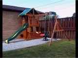 Backyard Discovery Oakmont Cedar Wooden Swing Set Backyard Discovery Parkway Wooden Swing Set Wooden Designs
