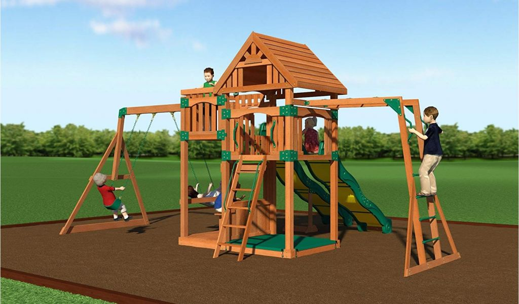 Backyard Discovery Prairie Ridge Swing Set Amazon Com Backyard