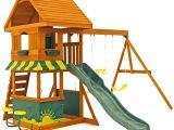 Backyard Discovery somerset Wood Swing Set Backyard Discovery Woodland All Cedar Playset Ideas for Backyard