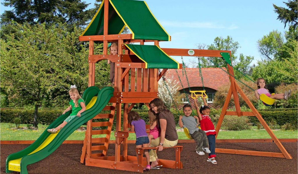 ... backyard discovery woodridge ii. Download by size:Handphone ... - Backyard Discovery Tanglewood Cedar Wooden Swing Set Backyard