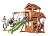Backyard Discovery Weston Cedar Swing Set Backyard Discovery Weston Cedar Swing Set Classic Backyard