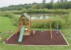 Backyard fort Kit Diy Backyard Playground Kits Playground Ideas Backyard Pinterest