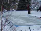 Backyard Ice Rink Kits Ice Rink Kit Standard Sizes and Great Advice