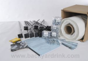 Backyard Ice Rink Liner Ice Rink Kit Standard Sizes and Great Advice