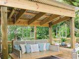 Backyard Pavilion Plans 40 Awesome Backyard Wood Deck Designs Types Of Outdoor Pavilion