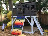 Backyard Playground Plans Pauls Clubhouse Plan Kuca Za Vrt Pinterest Clubhouses