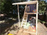 Backyard Playhouse Plans How to Build A Backyard Playhouse Pinterest Play fort Diy