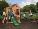 Backyard Swing Sets Walmart Backyard Swing Sets Walmart Pacific View Wooden Swing Set Barbour