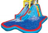 Backyard Water Slides for Adults Amazon Com Banzai Spring Summer toys Slide N soak Splash Park