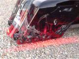 Bagger Tail Lights Harley Bagger True Flush Lexan Led Lights Youtube