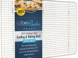 Baking Sheet with Wire Rack Amazon Com Coolingbake Stainless Steel Wire Cooling and Baking Rack