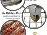 Baking Sheet with Wire Rack Ultra Cuisine Stainless Steel Cooling Rack for Baking Fits Jelly