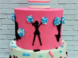Baseball Bat Cake Decorations Cheerleading Cake by My Sweeter Side Cakes I Want to Make