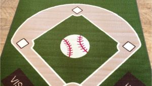 Baseball Field area Rug Baseball Field Rug Rugs Pinterest Baseball Field Fields and Room