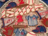 Baseball Player Cake Decorations Baseball Cookies Royal Icing Cookies Sports Pinterest