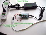 Basic Wireless Light Switch Kit Responsiv Power Switch Remote Led Dimming Controller 12v 24v 8a Dc