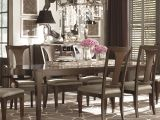 Bassett Furniture Baton Rouge Bassett Cosmopolitan Transitional Rectangular Dining Table with Two