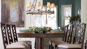 Bassett Furniture Houston Bassett Moultrie Park 7 Piece Double Pedestal Table and Side Chair