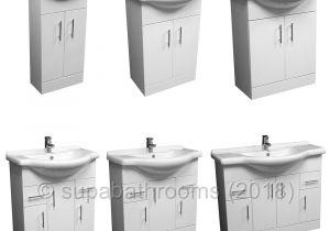 Bathrooms Ebay Uk Venice Bathroom Cloakroom White Vanity Unit Basin Sink