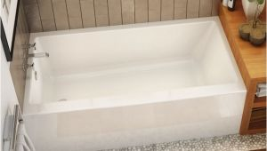 Bathtub Alcove Dimensions Rubix 6032 Bathtub with Apron for Alcove Installation