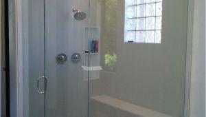 Bathtub Enclosures with Window Bathroom Rectangular Tempered Glass Window Feat