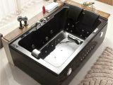 "Bathtub Jacuzzi for Sale Used 2 Person 72"" L Bathtub Whirlpool Hot Tub Spa Hydrotherapy"