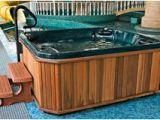 Bathtub Jacuzzi Repair Near Me Swimming Pool with Hot Tub Stock Image