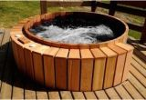 Bathtub Jacuzzi Style Cedar Wood Hot Tub Electric Jacuzzi Style Seats 6