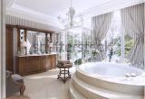 Bathtub Jacuzzi Style Luxury Bathroom Classic Style Bathroom Jacuzzi Stock