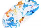 Bathtub Non Slip Stickers Amazon Com Mocollmax Non Slip Baby Bath Mat toddler Anti Bacterial