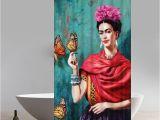 Bathtub Painting Frida Liberty Art Frida Kahlo Design Of Waterproof Fabric