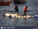Bathtub Race Uk New Year's Day Bath Race at Poole Quay Dorset Uk New