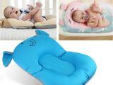 Bathtub Seat for Babies Anti Skid Baby Bath Mat Foldable Shower Seat Infant Bathtub Lounger
