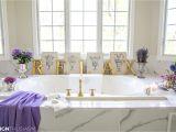 Bathtub Surround Decor 20 Minute Decorating Summer Refresh for Your Bathroom Decor