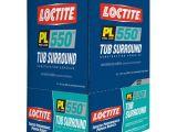Bathtub Surround Glue Loctite Pl 550 10 Fl Oz Tub Surround Adhesive 12 Pack