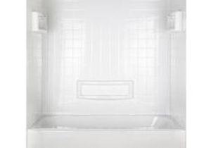 "Bathtub Surround Kits Menards Flexstone 60""x36""x78"" Royal 3 Panel Tub or Shower Kit at"