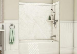 Bathtub Surround Professional Flexstone Elite 32 In X 60 In X 60 In 9 Piece Easy Up