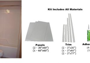 Bathtub Surround Professional Professional Bathtub Wall Surround Kits