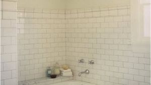 Bathtub Surround Tile Look 29 White Subway Tile Tub Surround Ideas and Pictures