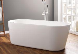 Bathtubs 1500 April Brearton 1500 X 700mm Contemporary Freestanding Bath