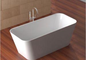 Bathtubs 1500mm Ultimo Thin Edge Freestanding Stone Bath 1500mm