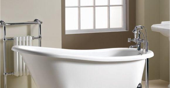 Bathtubs 1600 Iconic Diana Slipper Freestanding Bath 1600 X 740mm