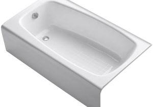 Bathtubs 4 Ft Shop Kohler Seaforth 4 5 Foot Left Hand Drain Cast Iron